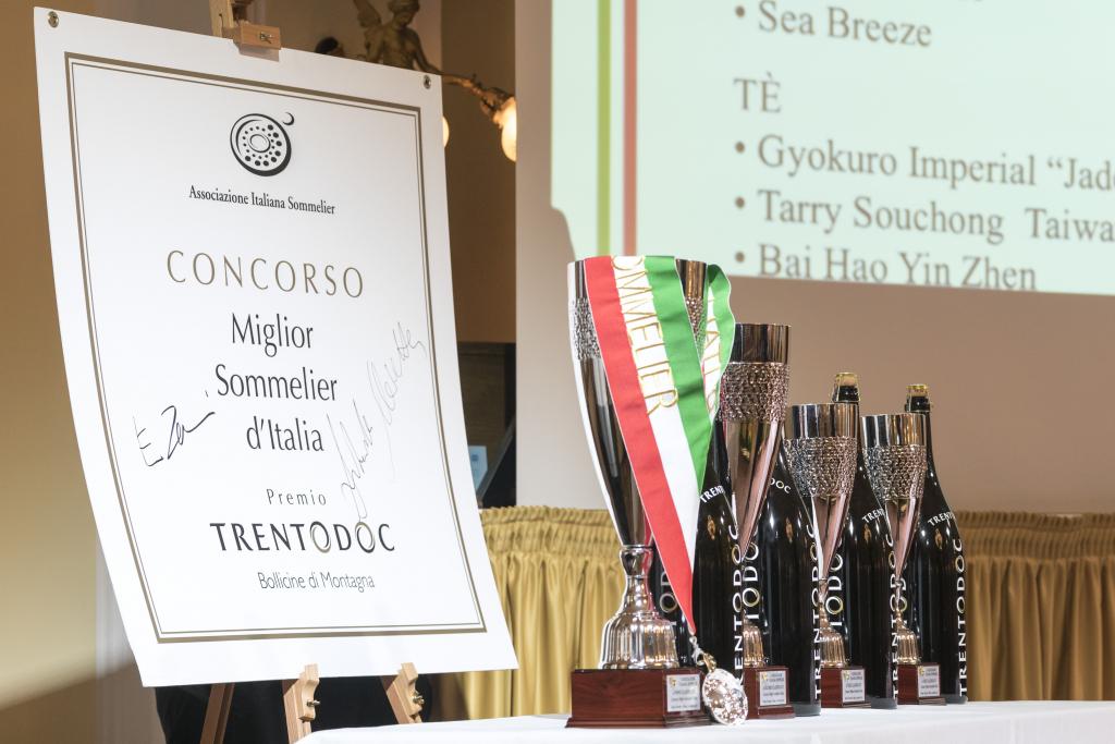 Concorso Miglior Sommelier d'Italia - Trofeo Trento DOC